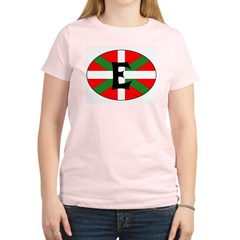 E Flag Women's Light T-Shirt