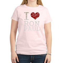 I heart Ron Paul Women's Light T-Shirt