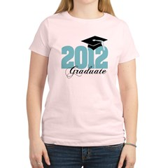 2012 graduate color aqua Women's Light T-Shirt