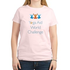 Yoga Aid World Challenge MILFORD Women's Light T-Shirt