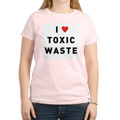 toxic_01f.jpg Women's Light T-Shirt