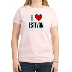 I LOVE ESTEVAN Women's Light T-Shirt