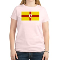 Ulster Flag Women's Light T-Shirt