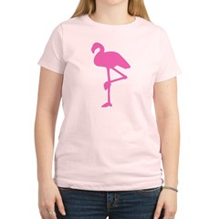 Hot Pink Flamingo Women's Light T-Shirt