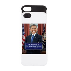 Barack Obama 2013 Presidential Inauguration iPhone 5 Wallet Case