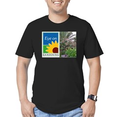 Eye on Gardening Tropical Plants Men's Fitted T-Shirt (dark)