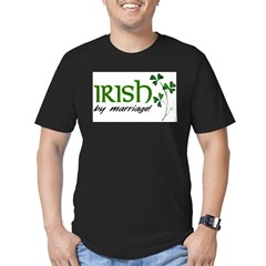 irish marriage Men's Fitted T-Shirt (dark)