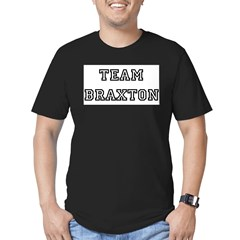 TEAM BRAXTON T-SHIRTS Ash Grey Men's Fitted T-Shirt (dark)