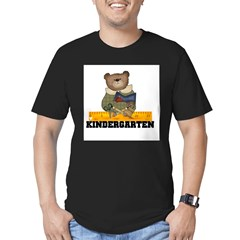 Bear Kindergarten Men's Fitted T-Shirt (dark)