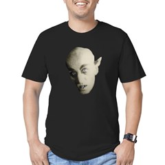 Nosferatu Black Men's Fitted T-Shirt (dark)