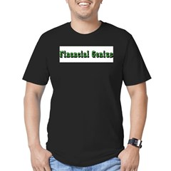 Financial Genius Men's Fitted T-Shirt (dark)