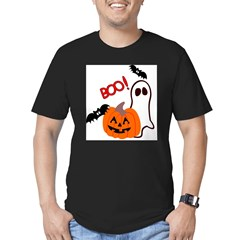 Halloween.jpg Men's Fitted T-Shirt (dark)