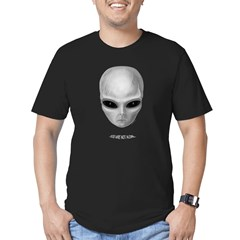 "Alien ""You Are Not Alone"" Men's Fitted T-Shirt (dark)"