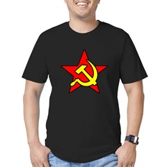 USSR Men''s Men's Fitted T-Shirt (dark)