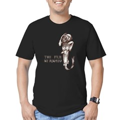 Fiji Mermaid Men''s Men's Fitted T-Shirt (dark)