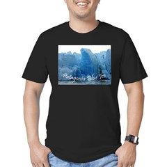 3-Patagonia Blue Ice.jpg Men's Fitted T-Shirt (dark)