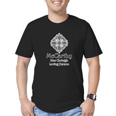McCarthy Men's Fitted T-Shirt (dark)