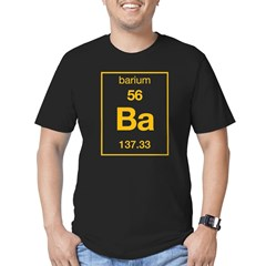 Barium Men's Fitted T-Shirt (dark)