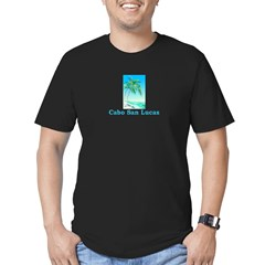 Cabo San Lucas, Mexico Men's Fitted T-Shirt (dark)