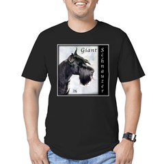 Giant Schnauzer Men's Fitted T-Shirt (dark)