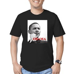 President Obama Men's Fitted T-Shirt (dark)