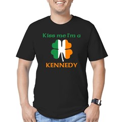 Kennedy Family Men's Fitted T-Shirt (dark)