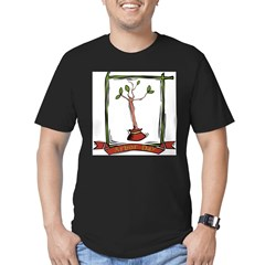 Arbor Day Men's Fitted T-Shirt (dark)