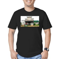 Shit's Creek Paddle Store Men's Fitted T-Shirt (dark)
