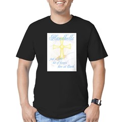 Little Bit of Heaven Men's Fitted T-Shirt (dark)