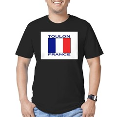 Toulon, France Men's Fitted T-Shirt (dark)