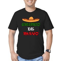 Gringo De Mayo Men's Fitted T-Shirt (dark)