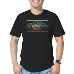 Bagpipes Men's Fitted T-Shirt (dark)