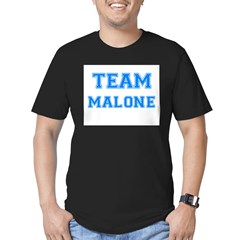 TEAM MALONE Men's Fitted T-Shirt (dark)
