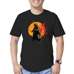 Samurai Warrior Men's Fitted T-Shirt (dark)