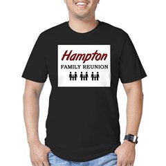 Hampton Family Reunion Men's Fitted T-Shirt (dark)