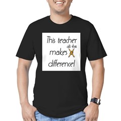 This Teacher Men's Fitted T-Shirt (dark)