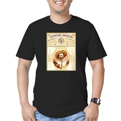 Sancho Panza Ar Men's Fitted T-Shirt (dark)