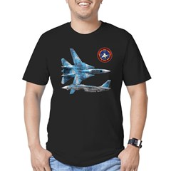 US Navy Fighter Weapons Schoo Men's Fitted T-Shirt (dark)