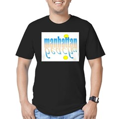 manhattanbeach1 Men's Fitted T-Shirt (dark)