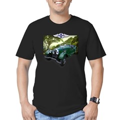 British Racing Green Morgan Men's Fitted T-Shirt (dark)