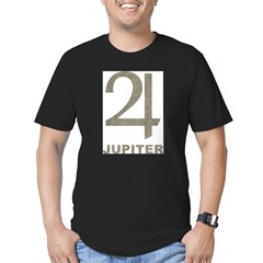 Vintage Jupiter Men's Fitted T-Shirt (dark)