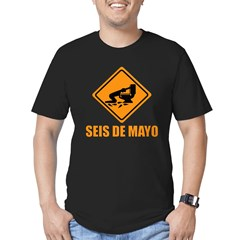 Seis De Mayo Men's Fitted T-Shirt (dark)