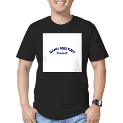 Band Meeting . . . Presen Men's Fitted T-Shirt (dark)
