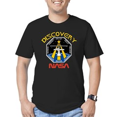 STS-121 NASA Men's Fitted T-Shirt (dark)