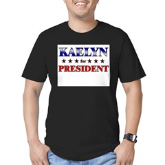 KAELYN for president Men's Fitted T-Shirt (dark)