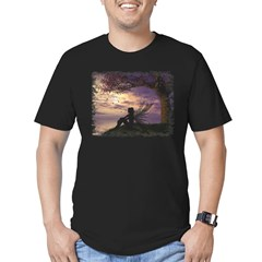 The Dreamer Men's Fitted T-Shirt (dark)
