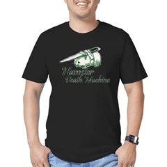 hamster death machine WEB.psd Men's Fitted T-Shirt (dark)
