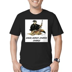 Samurai Men's Fitted T-Shirt (dark)