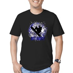 GOT SNOW? Men's Fitted T-Shirt (dark)