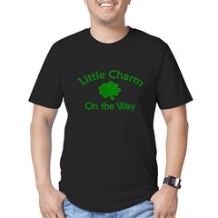 Little Charm Men's Fitted T-Shirt (dark)